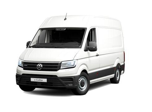 Volkswagen Crafter 35.8kWh e-Crafter 3,5t L3 ELEKTROMOTOR 100 KW + UNIVERSELE LAADVLOER