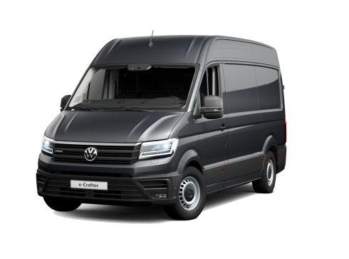 Volkswagen Crafter 35.8kWh e-Crafter 3,5t L3 ELEKTROMOTOR 100 KW + HOUTEN ZIJWANDBEKLEDING
