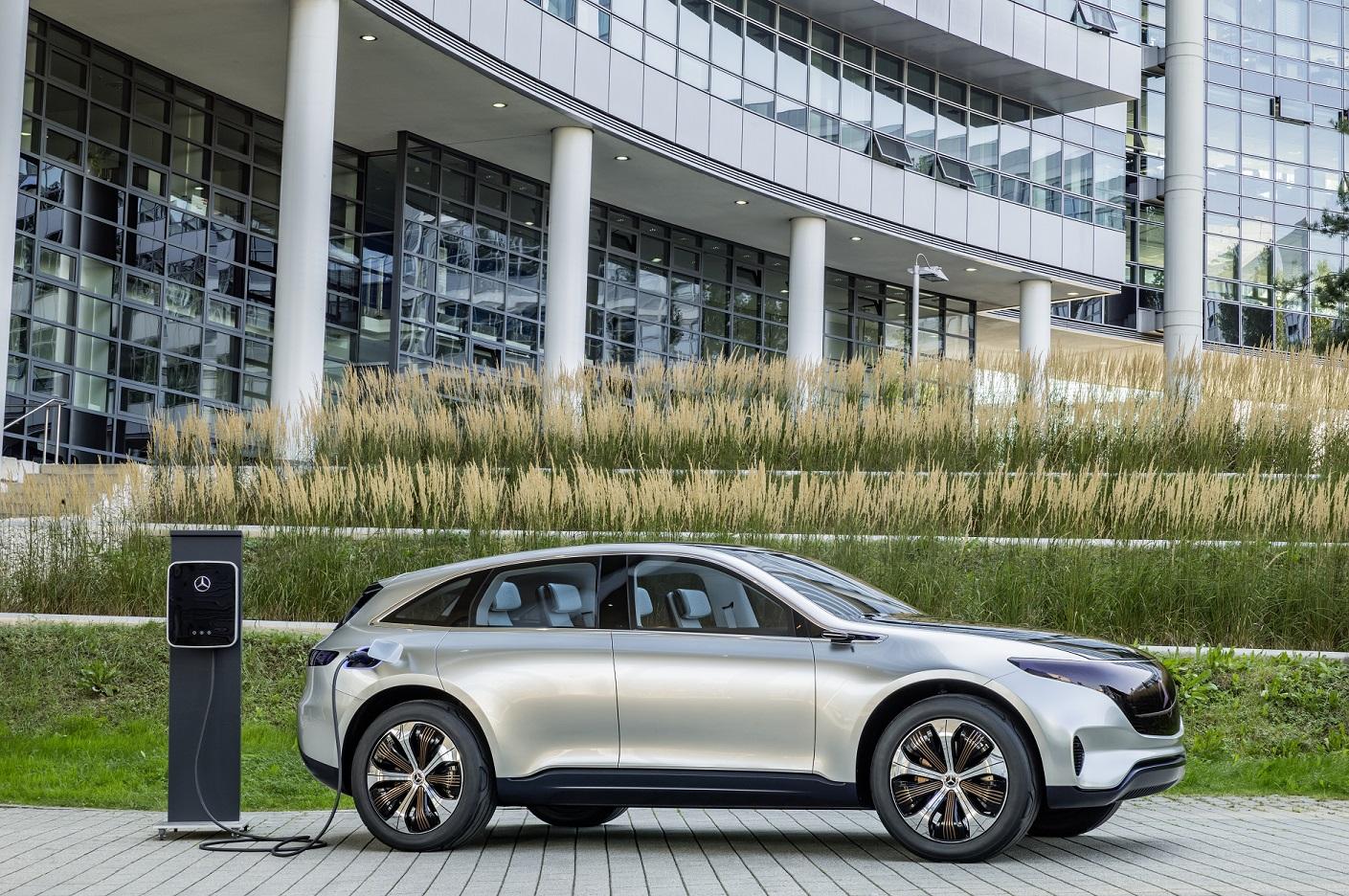 Mercedes Benz Eq Alles Over De Volledig Elektrische Auto S Van
