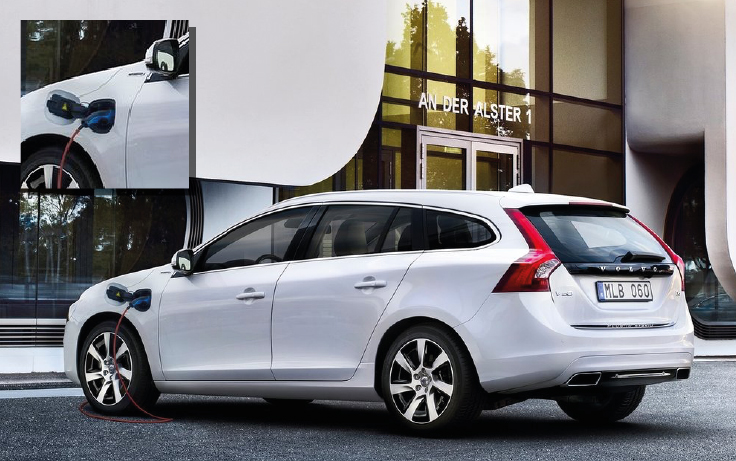 Volvo V60 Twin Engine lease auto