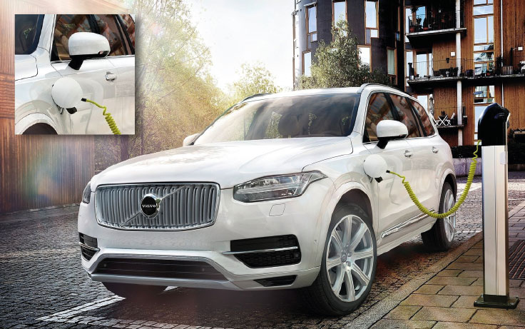 Volvo XC90 T8 Twin Engine lease auto