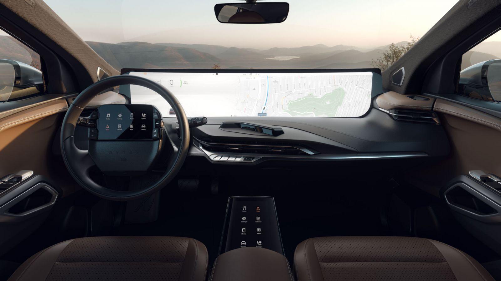 Deze Elektrische Auto Van Byton Is Een Zelfrijdende Bioscoop Met