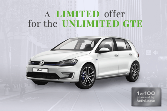 Volkswagen Golf GTE Connected Series