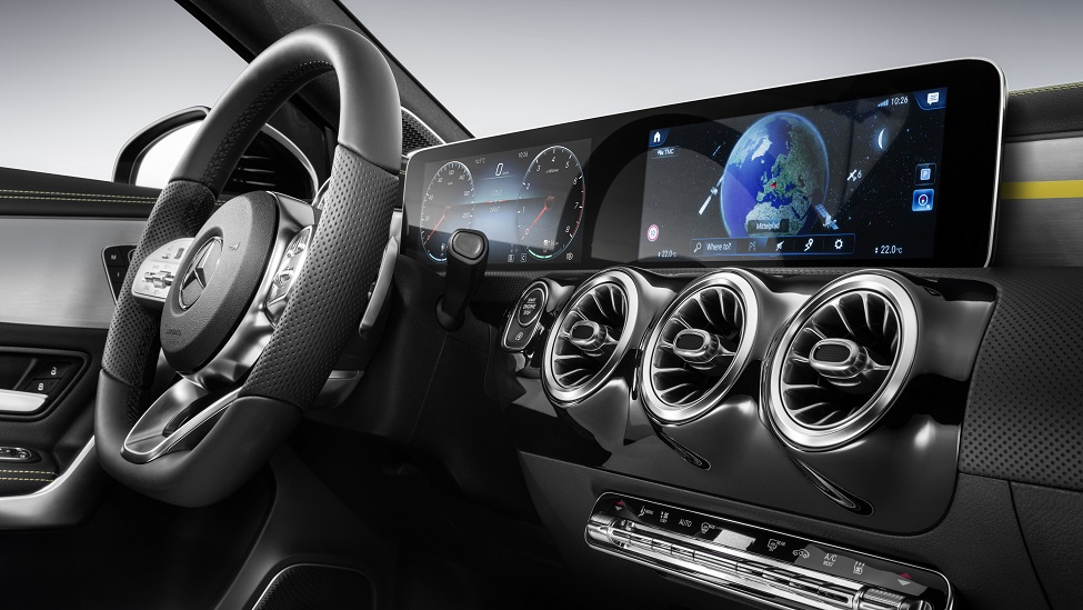 Mercedes-Benz A-klasse dashboard