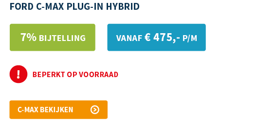 Ford C-Max Plug-in Hybride lease offerte