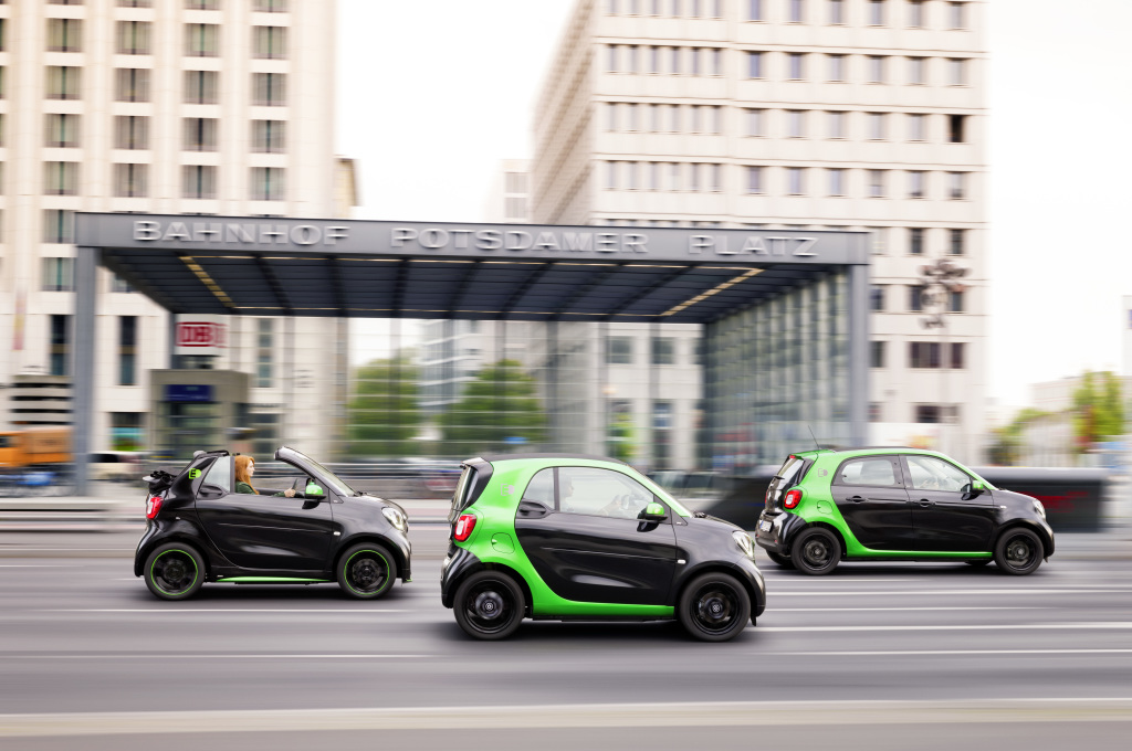 Smart FortTwo ForFour ED