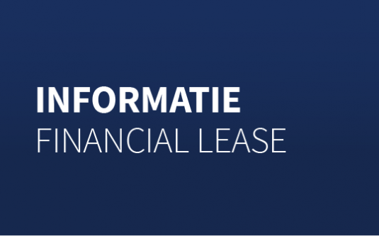 Alles over financial lease