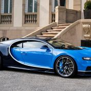 De supersnelle Bugatti Chiron operational lease