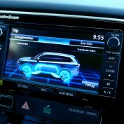 Outlander PHEV touchscreen