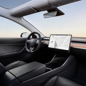 Tesla Model 3 zwart interieur
