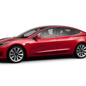 Tesla Model 3 Multi-Coat Red