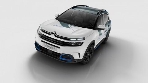De Eerste Plug In Hybride Auto Van Citroen De C5 Aircross Hybrid