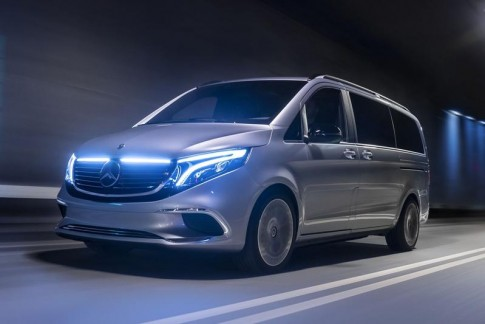 Video: De Mercedes EQV op de IAA Frankfurt