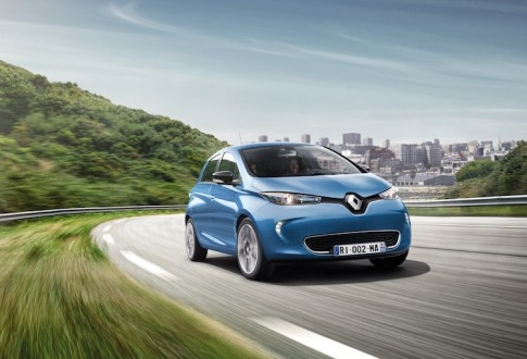 Wow! De Renault Zoe actieradius is wel 400 km zonder laden!