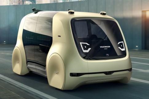 Sedric Concept De Zelfrijdende Elektrische Auto Van Volkswagen