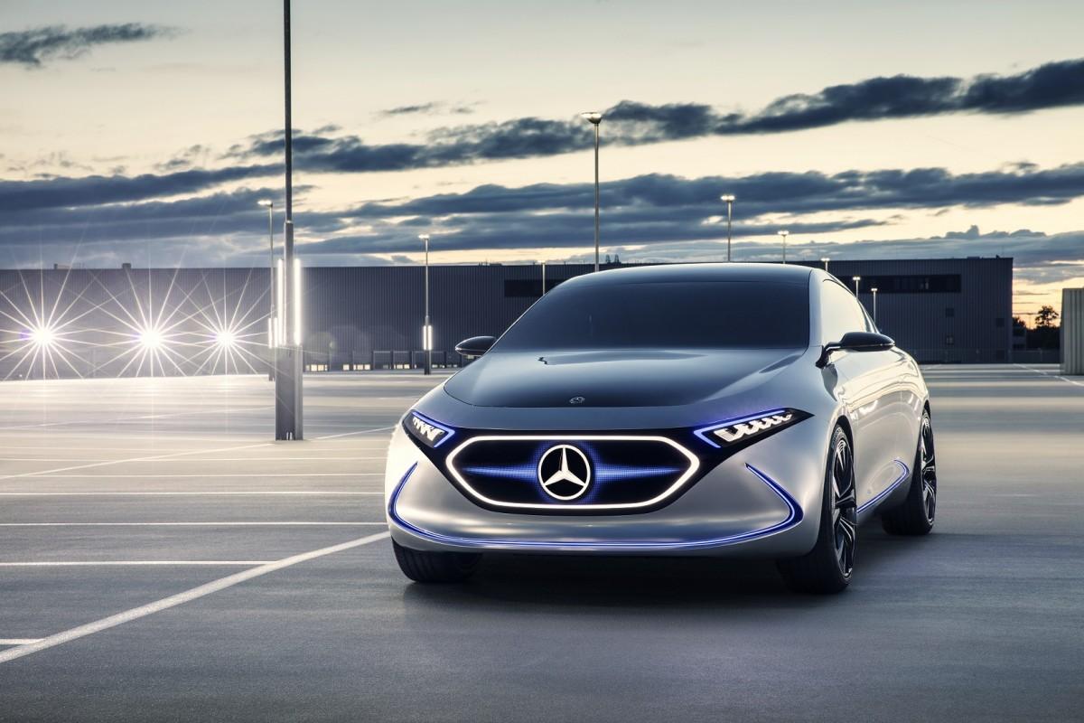 Mercedes-Benz EQ: alles over de volledig elektrische auto ...