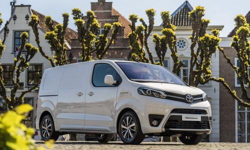 Toyota maakt prijzen van volledig elektrische PROACE Electric bekend