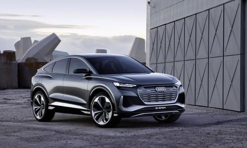 Audi zet de elektrificatie voort en toont Q4 Sportback e-tron concept