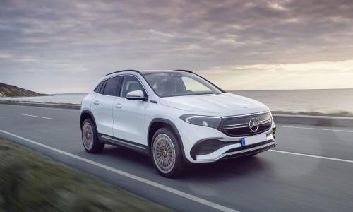 De Mercedes-Benz EQA is onthuld en krijgt een instapprijs van €49.995