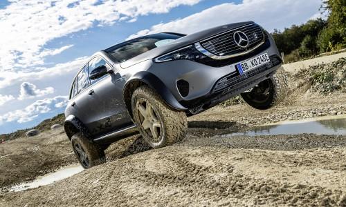 Met deze extreme EQC 4x4 laat Mercedes de kracht van EV's zien