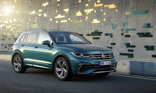Nieuwe neus en hybride aandrijving voor Volkswagen Tiguan