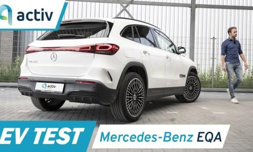 Video: Mercedes EQA review - Het meeste comfort in een elektro-Benz!