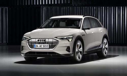 Audi e-tron krijgt goedkoper instapmodel, levering 2019