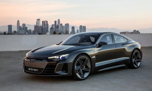 De Audi e-tron GT Concept is een flinke waarschuwing voor Tesla