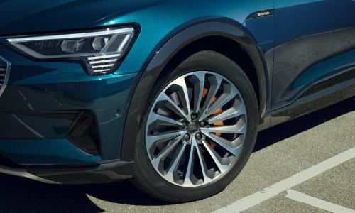Een kijkje in de optielijst van de elektrische Audi e-tron