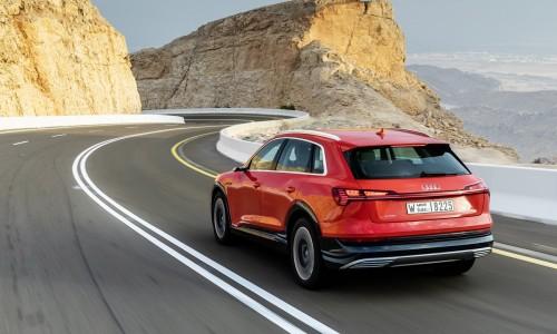 Audi e-tron haalt maar liefst 417 km actieradius zonder laden!