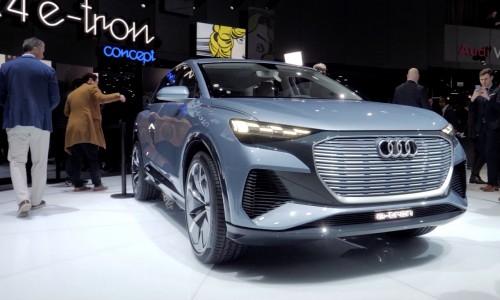 Audi Q4 e-tron concept steelt de show