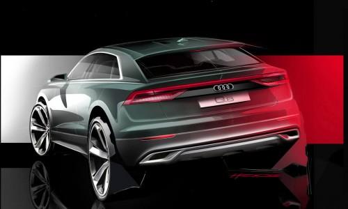Audi Q8 onthuld in vijfdelige miniserie, luxe SUV binnenkort te leasen