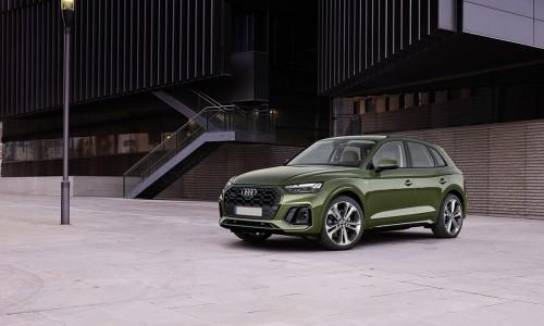 De vernieuwde Audi Q5 heeft een wereldprimeur met innovatieve OLED achterlichten