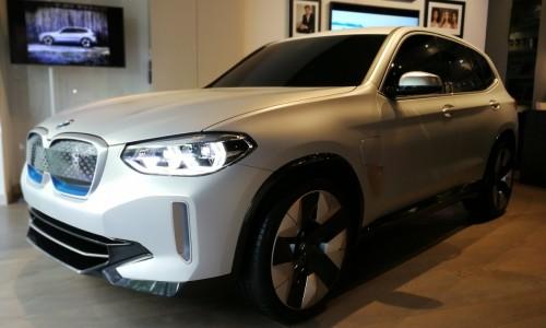 Foto's: de elektrische BMW iX3 kan het Audi en Mercedes lastig gaan maken