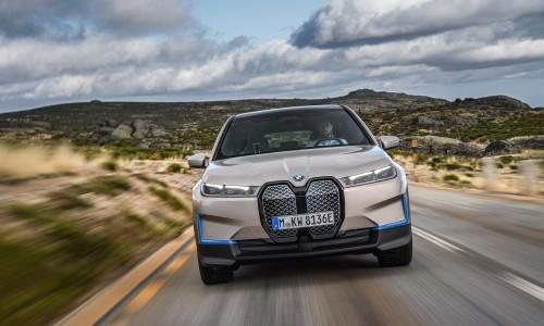 Dít is de iX SUV, het imposante elektrische vlaggenschip van BMW