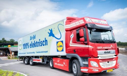 Ook vrachtwagenbranche gaat steeds meer elektrisch rijden
