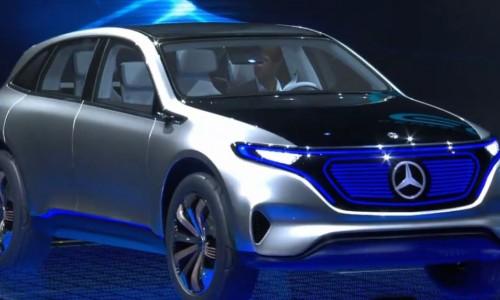 Mercedes brengt 10 nieuwe elektrische auto's uit tot 2022