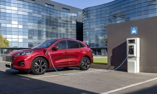 Ford komt met elektrische versie van alle nieuwe modellen