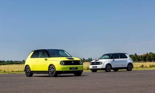 Elektrische Honda e gooit charmes in de strijd op Goodwood