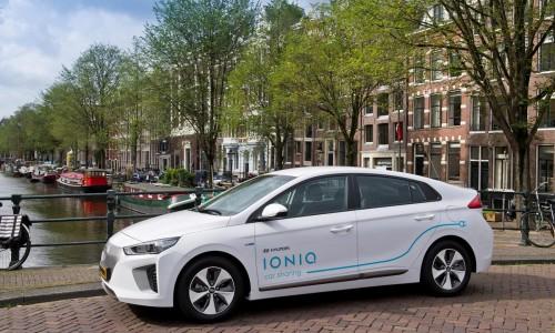 Hyundai IONIQ car sharing dienst gestart in Amsterdam