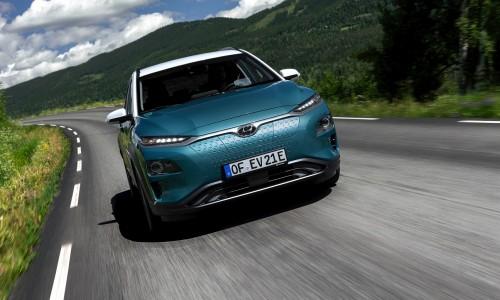 De head-up display van de nieuwe Hyundai KONA Electric - zo werkt het