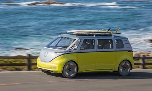 Volkswagen I.D. Buzz elektrische bus gaat 2022 in productie