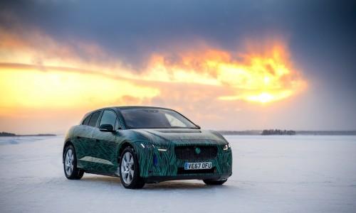 De elektrische Jaguar I-Pace kan 400 km actieradius bijladen in 45 minuten