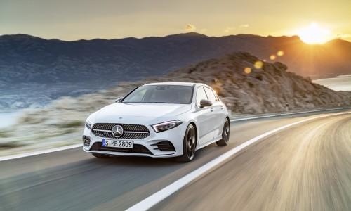 In beeld: de vernieuwde Mercedes-Benz A-klasse. Binnenkort te leasen!
