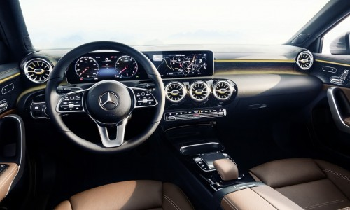 Lease de Mercedes-Benz A-klasse binnenkort met vernieuwd dashboard