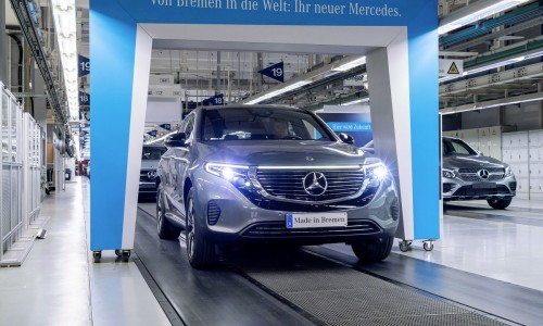 Mercedes-Benz EQC is goedkoper dan Audi e-tron, productie begonnen