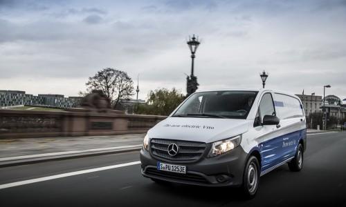 Mercedes-Benz toont elektrische eVito, bestelbus met 150 km bereik