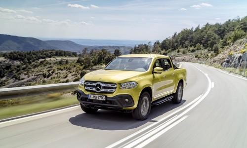 Mercedes-Benz debuteert met premium pick-up: de gloednieuwe X-klasse
