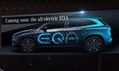 Elektrische Mercedes-Benz EQA is 'coming soon', wordt een crossover