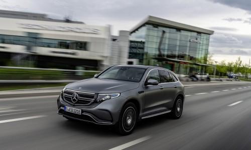 Elektrische Mercedes EQC deze zomer in de showroom te bewonderen
